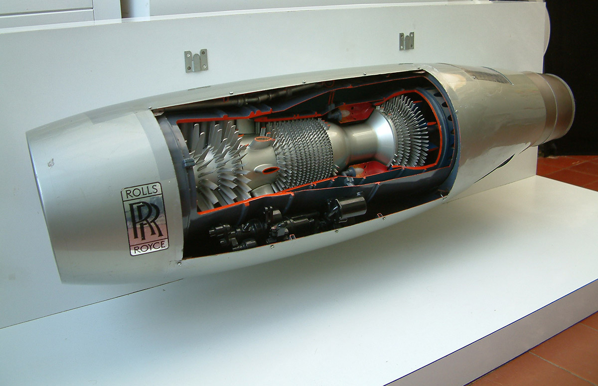 Rolls Royce Models >> Rolls Royce Spey engine working cutaway model